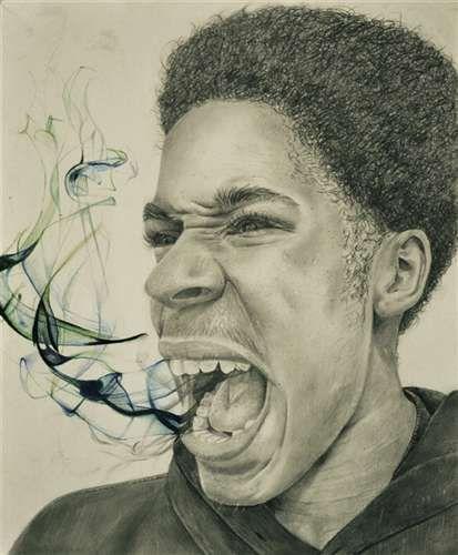 """Speechless"" by Jordan Smith of Johns Creek HS, GA, grade 12, 2014 Gold Medal, Scholastic Art and Writing Awards."