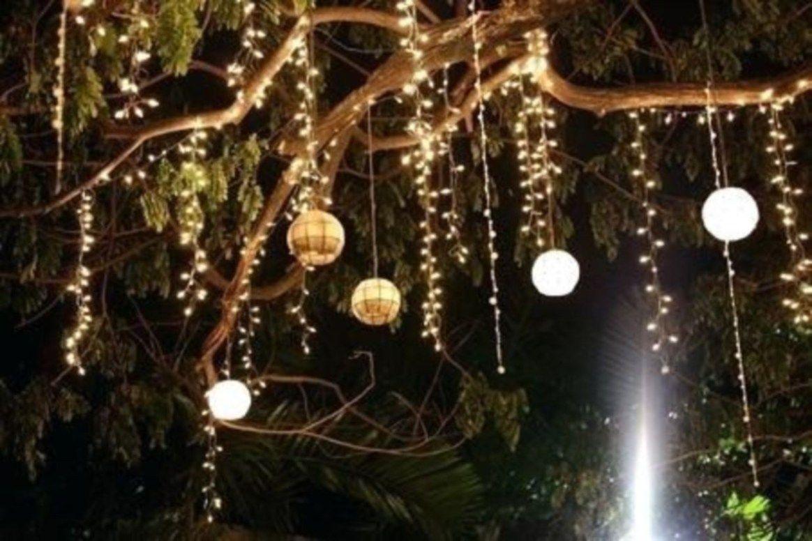 52 Best Garden Decorate With Some Diy Hanging Lights Rengusuk Com Outdoor Hanging Lights Decorating With Christmas Lights Outdoor Tree Lighting