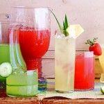 Los sabores favoritos de aguas frescas... Ideas para preparar combinaciones deliciosas