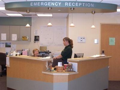 er receptionist desks google search