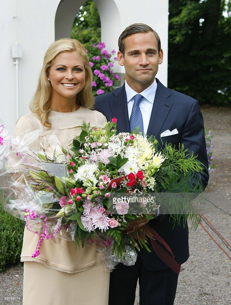 Her Royal Highness Princess Madeleine of Sweden and Jonas ...