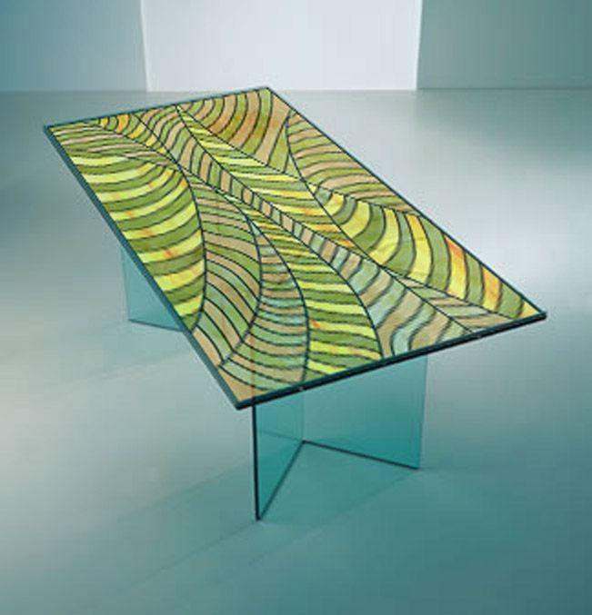 Art Glass Galleries | Art Glass Table Tops
