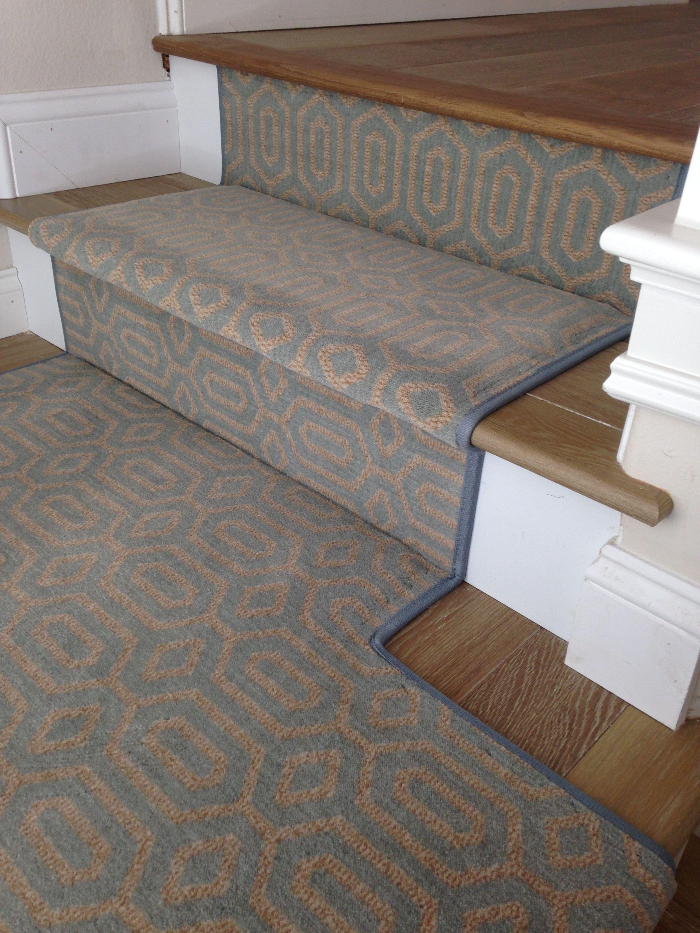 Stanton Atelier Miro Ocean Stair Runner Orange County