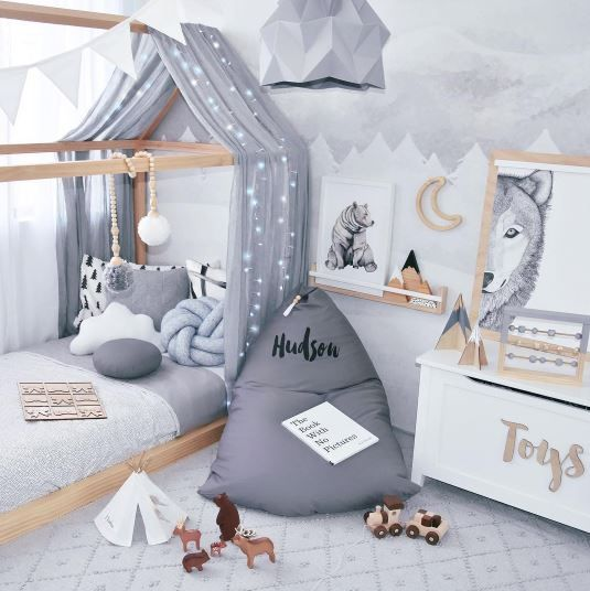 A very gorgeous bedroom by @hudson_and_harlow | all kids bunk ...