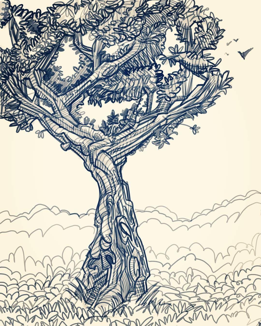 Little Imaginary Tree Sketchbook Sketching Sketch Artistsjournal Artjournal Instaart Instagood Art Artist Graphic Pen Ink Drawings Art Insta Art [ 1350 x 1080 Pixel ]