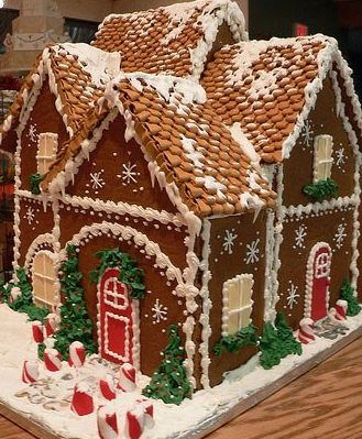 epic gingerbread house template  Epic Gingerbread House   Gingerbread house pictures ...