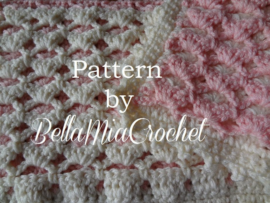 Free crochet pattern for bubbles baby blanket this is the perfect ...