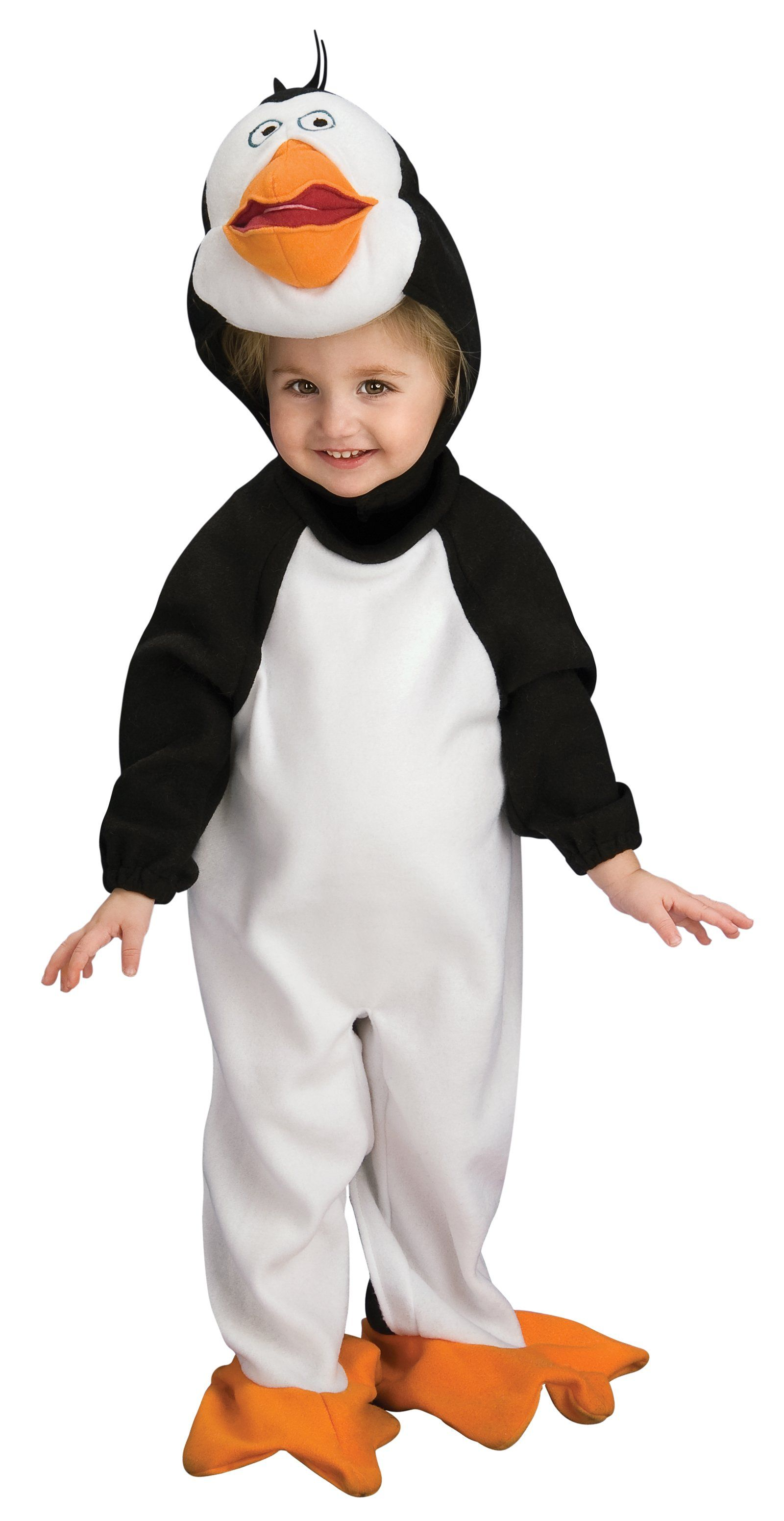 the penguins of madagascar rico infanttoddler costume infant toddler child male halloween - Infant Penguin Halloween Costume