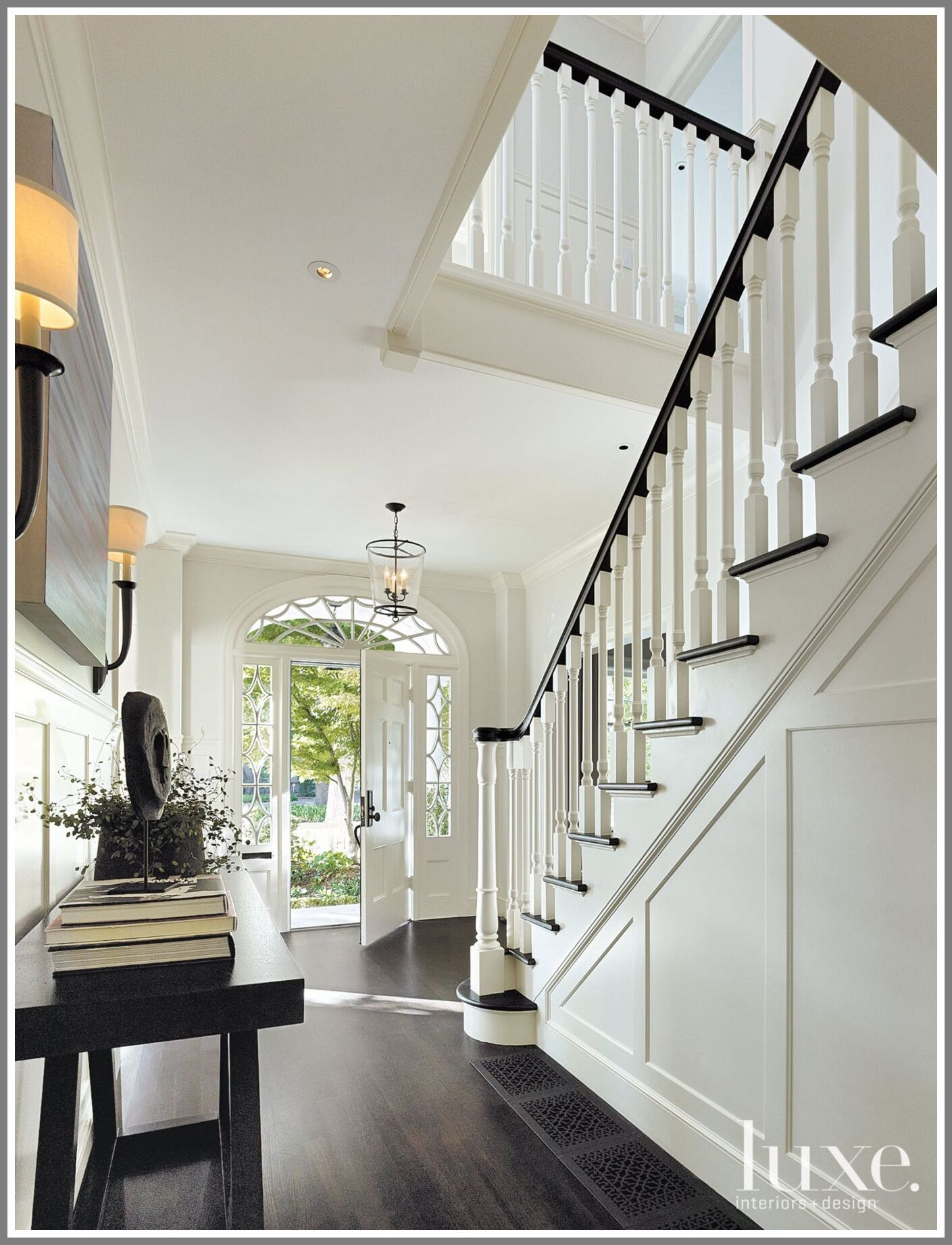 65 Reference Of Entrance Interior Design Ideas In 2020 Colonial House Interior Colonial House Luxe Interiors