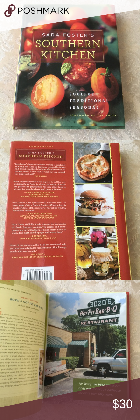 New Sara Foster S Southern Kitchen Hardcover Southern Kitchens Kitchen Cookbook The Fosters