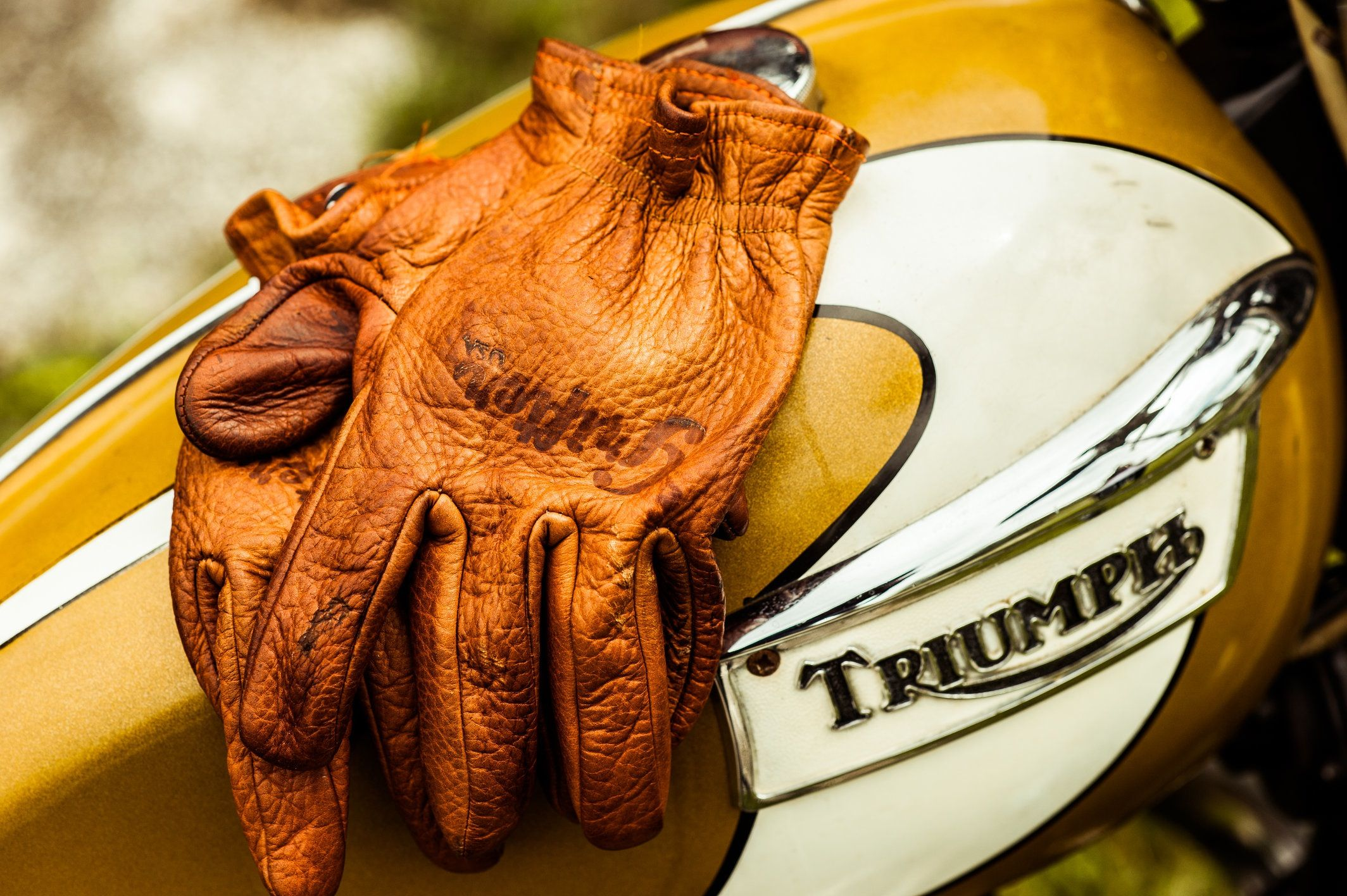 Bison Scoundrels | Gloves, Vintage motorcycles, Motorcycle ...