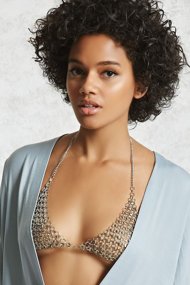 6cd9d21763c66 Circle Link Bralette Body Chain