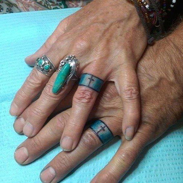 Wedding Ring Tattoos For Men