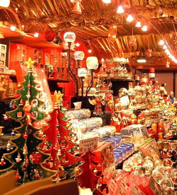 market stall 2 Edinburgh christmas, Christmas in