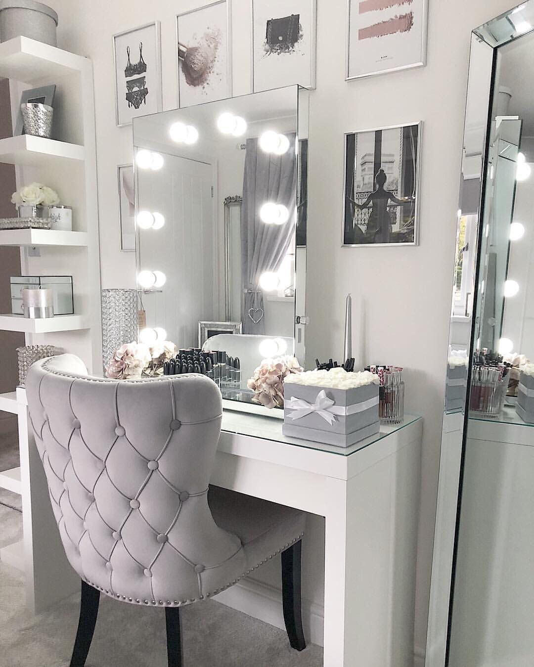 Dressing Table Mirror With Lights Ideas