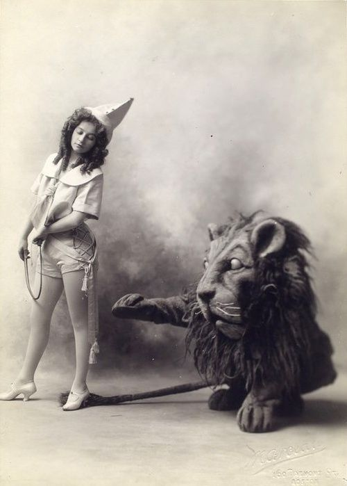 Vintage and oh, so very creepy