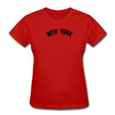 Camiseta New York Classic Women New York Tee Red  Camiseta  New York ... 67e9fcd9ae9ec