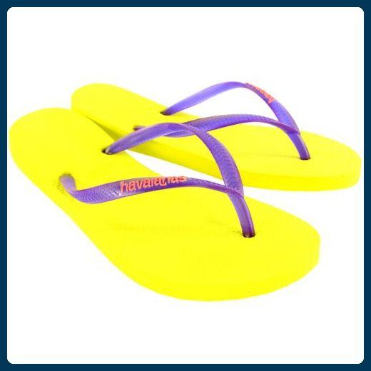 premium selection 6cd2d 53a7b Damen Havaianas Slim Logo Strand Flip Flops Sommer Urlaub ...