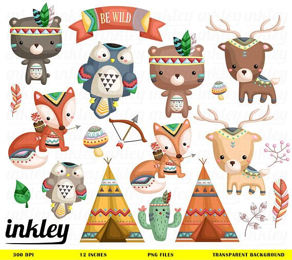 Tribal Animal Clipart Cute Animal Clipart Native Tribe Animal Free Svg On Request Tribal Animals Animal Clipart Cute Animal Clipart