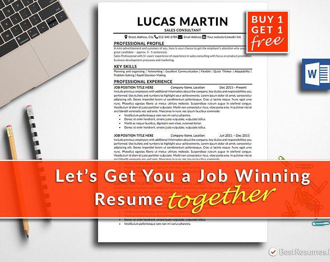 clean resume  resume template word  simple resume  classic
