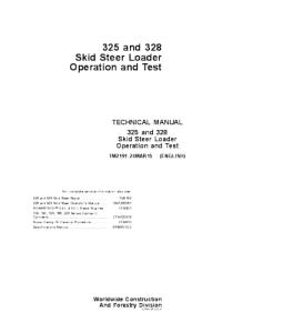 Best john deere 325 328 skid steer loader operation and test