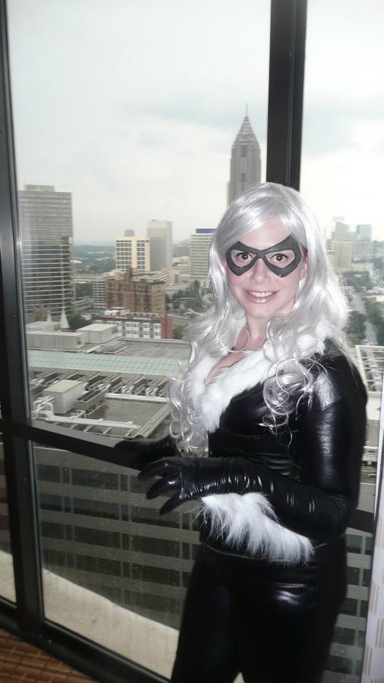 Marvel's Black Cat Atlanta skyline