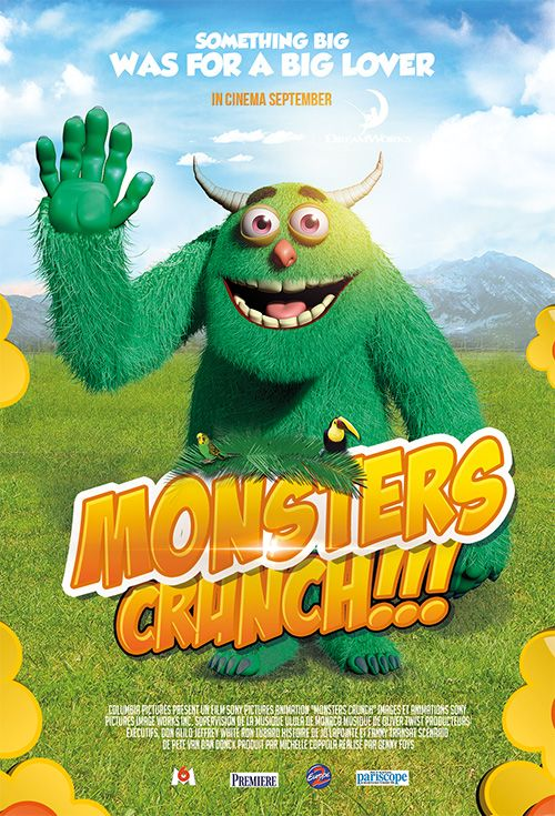 Monster crunch, Free flyers and posters of animation film by frenchcollection.fr