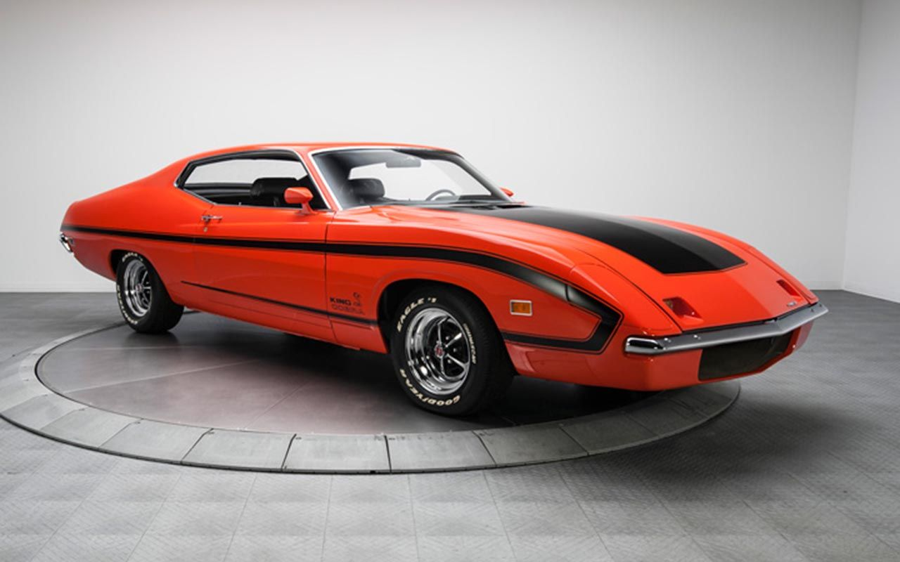 1970 ford torino king cobra prototype one of only two known to exist