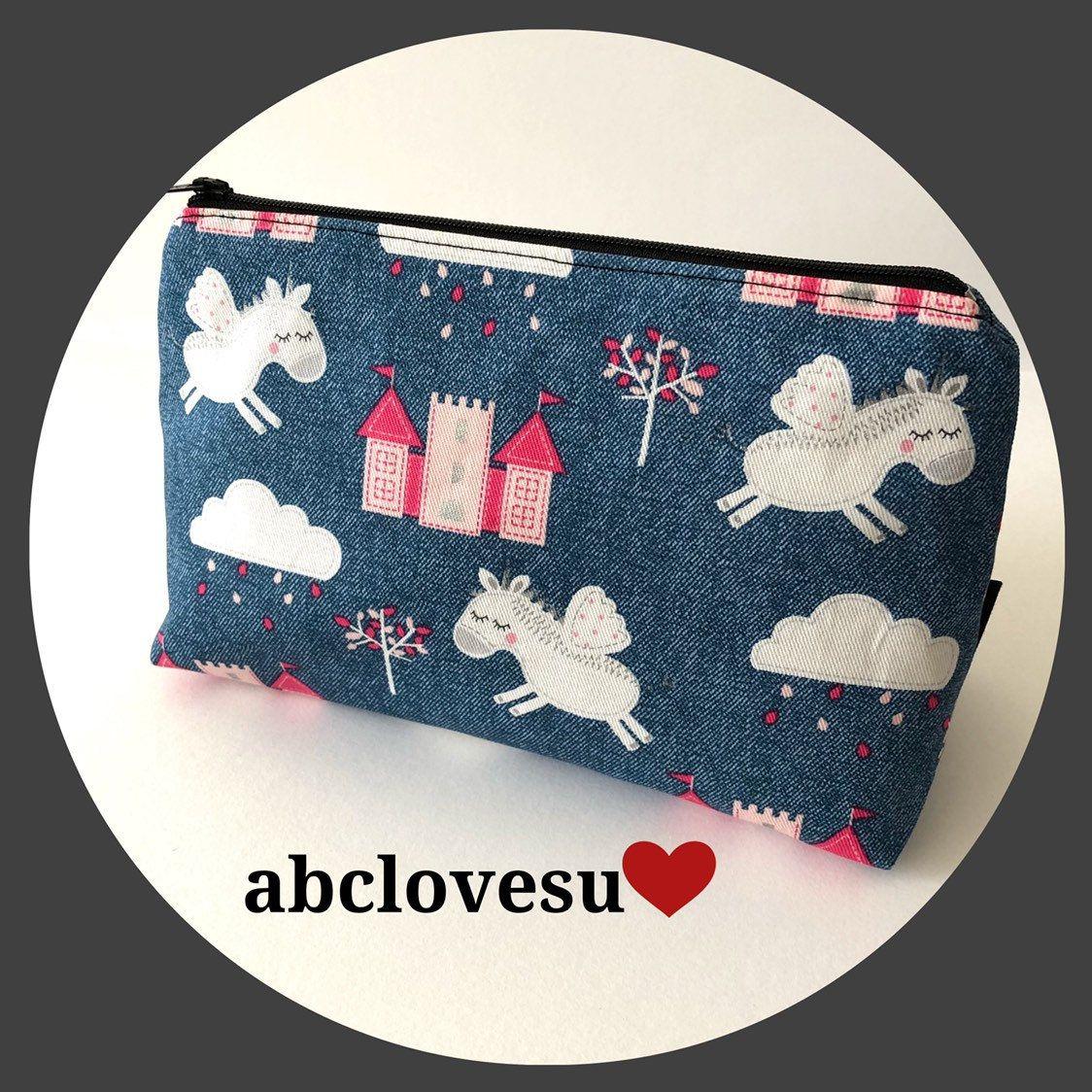 Unicorn make up bag. Makeup bag, Bags, How to make