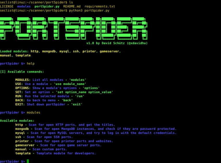 Portspider Is A Tool For Scanning Huge Network Ranges To Find Open Ports And Vulnerable Services Security List Network Networking Port Vulnerability