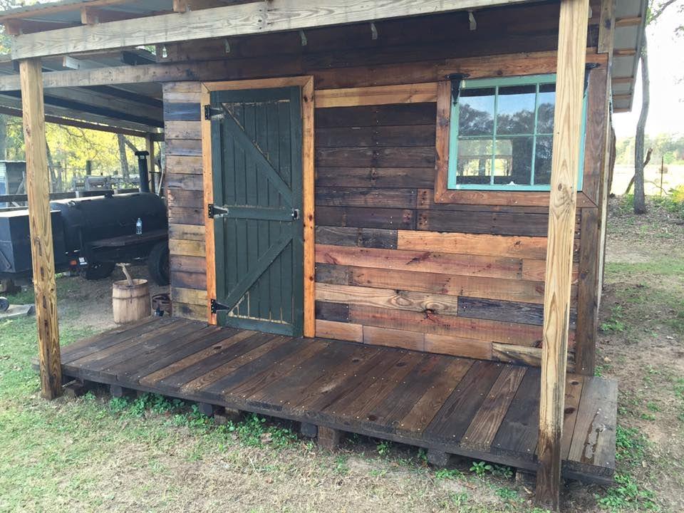 Diy pallet shed pallet outdoor cabin plans pallet shed