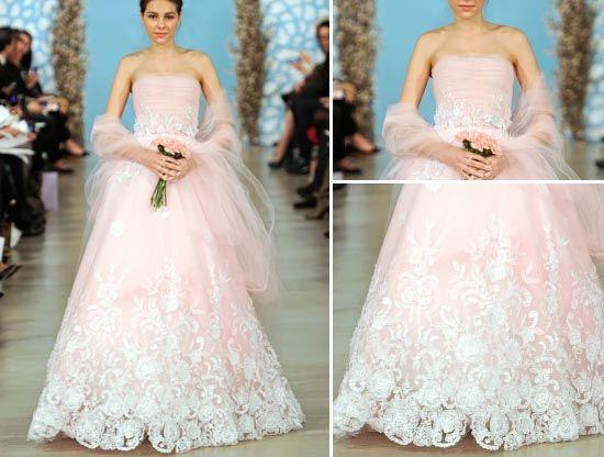 Trendfarbe 2014 – Brautkleider Farbe 2014 | Brautkleider, farbige ...