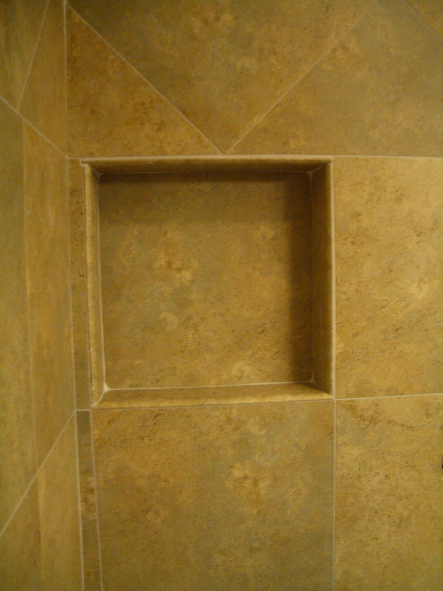 shower niche ideas | How to Build a Niche for your Shower – Part 4 ...