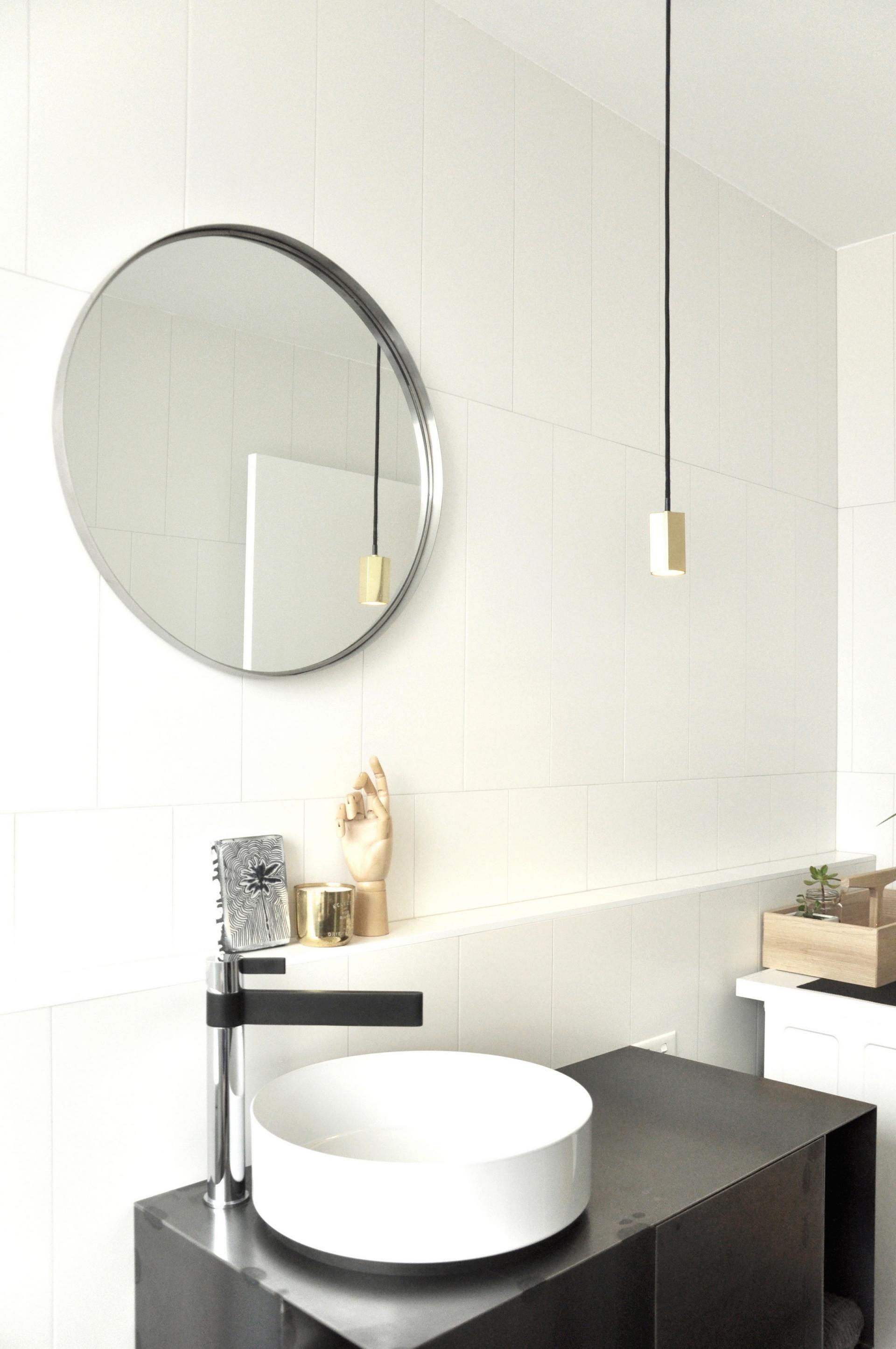 Ashfield Apartment By Archier Via Lunchbox Architect Bathroomd Bathroom Inspiration Modern Modern Bathroom Light Fixtures Bathroom Design Software