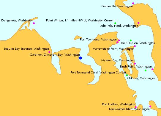 Gardiner Discovery Bay Washington Tide Chart Cabin Pinterest