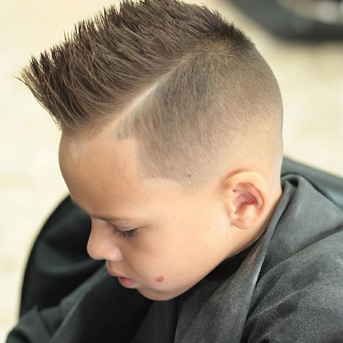 46 Edgy Kids Mohawk Ideas That They Will Love: Idées Pour Petites Têtes Blondes