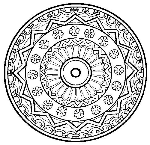 Art Therapy Mandalas Alot To Choose From Great Stress