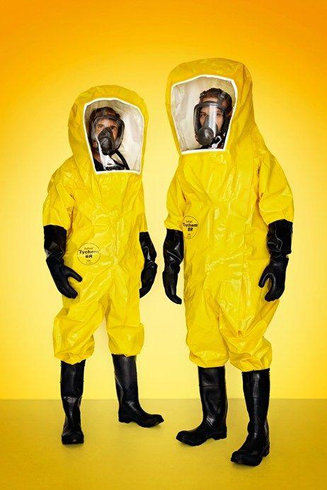 Unisex Protective Hazard Suit Adult Toxic Forensic Halloween Fancy Dress Costume