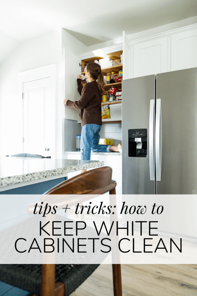 Are White Kitchen Cabinets Hard To Keep Clean