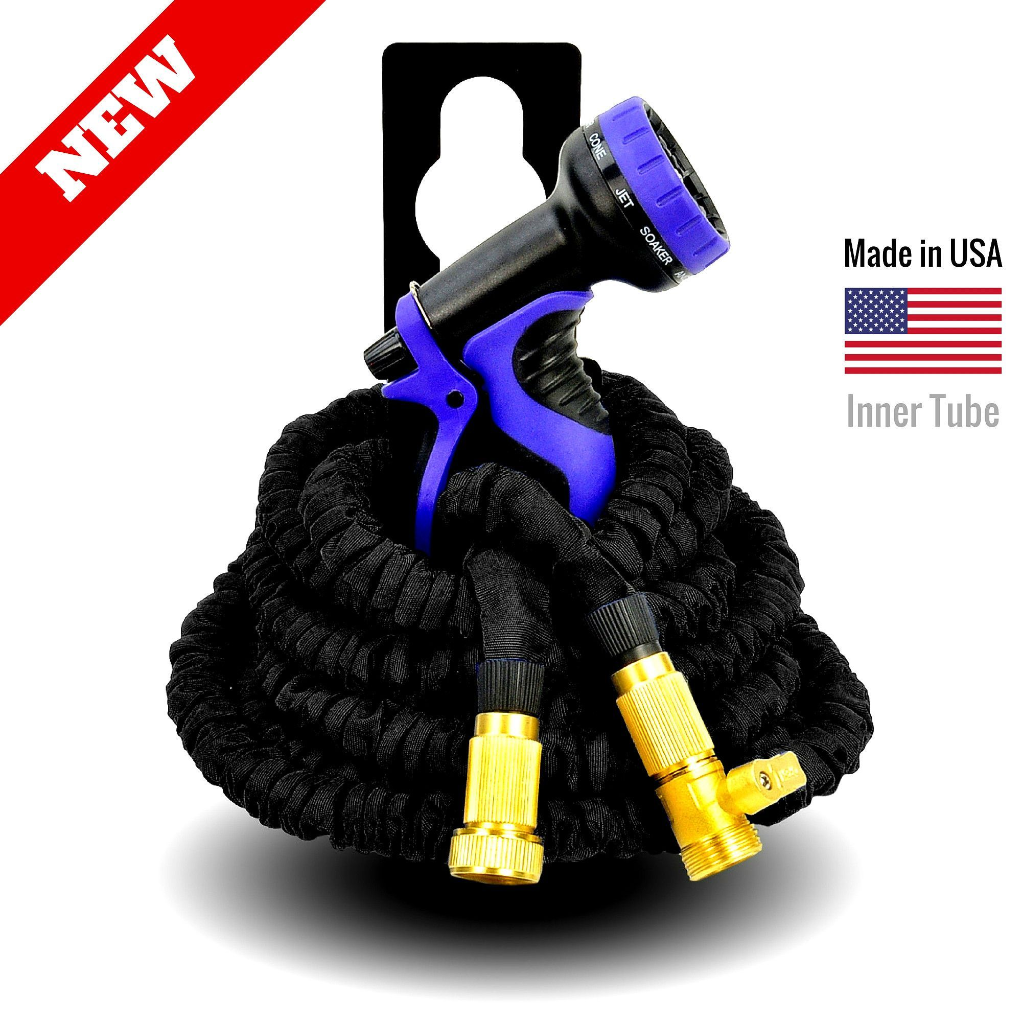 Strongest Expandable Garden Hose Black (With images