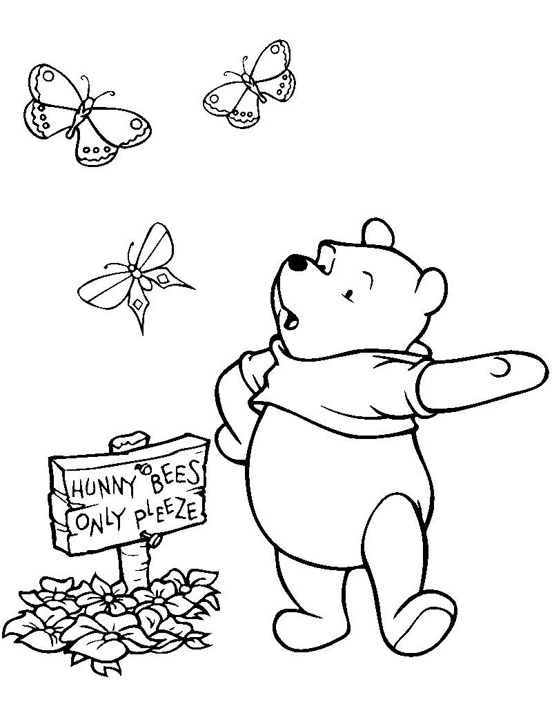 Cute Winnie The Pooh Coloring Pages Pdf Download Free Coloring Sheets Coloring Books Baseball Coloring Pages Disney Coloring Pages