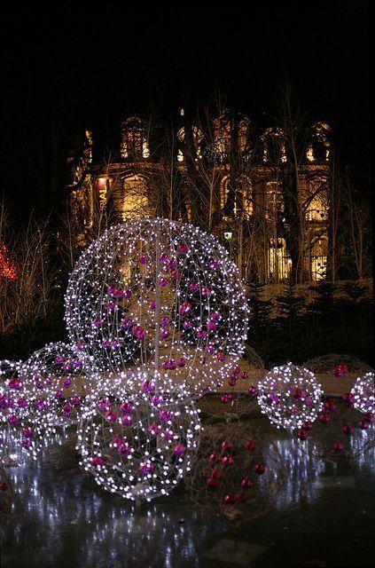 diy deko ideen zu weihnachten den garten gestalten das eis ideen f r weihnachten