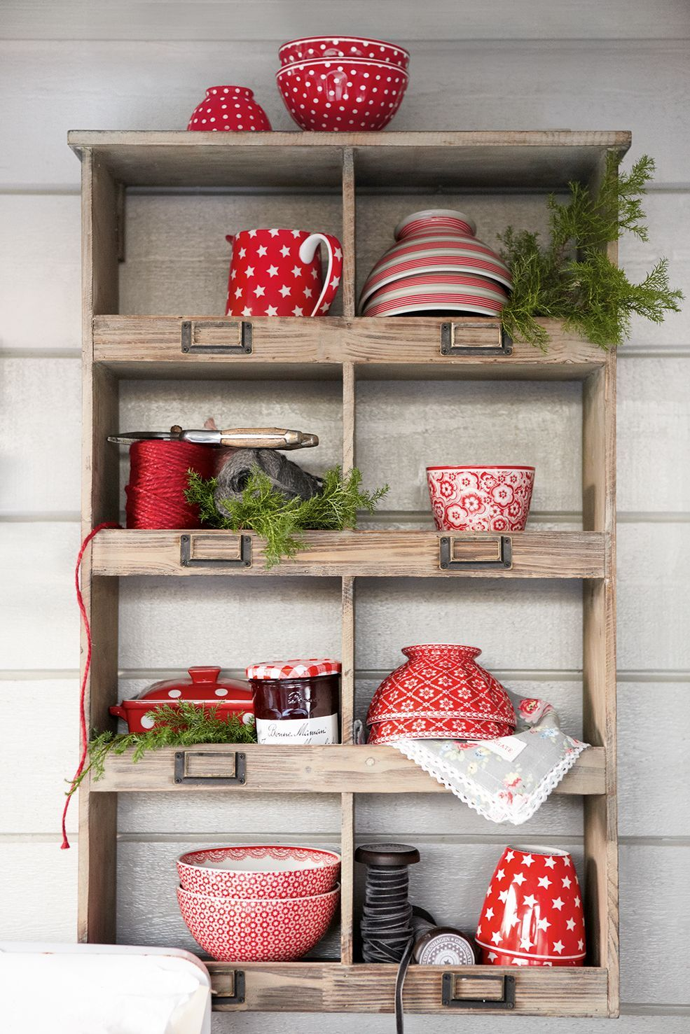 Awesome Red Kitchen Decorative Accessories