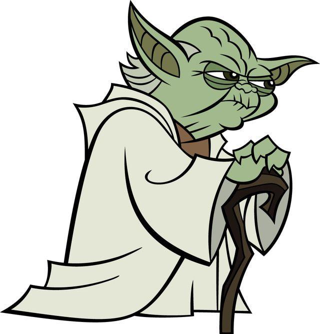 Star Wars Animated Clone Wars Yoda Cartoon Network