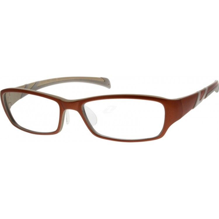 Women\'s full-rim TR90 flexible plastic frame with polycarbonate nose ...