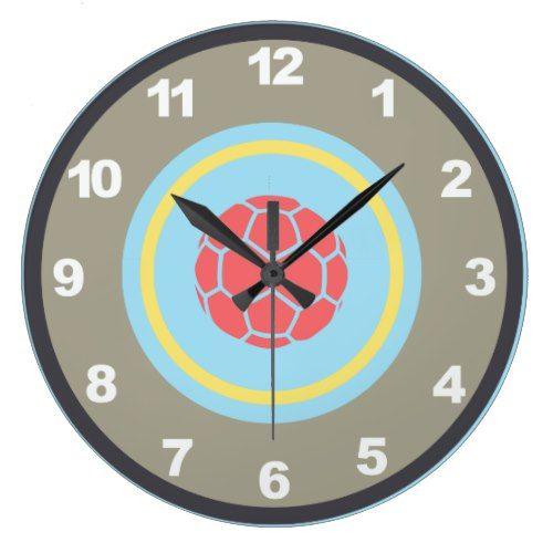Soccer/Football Wall Clock