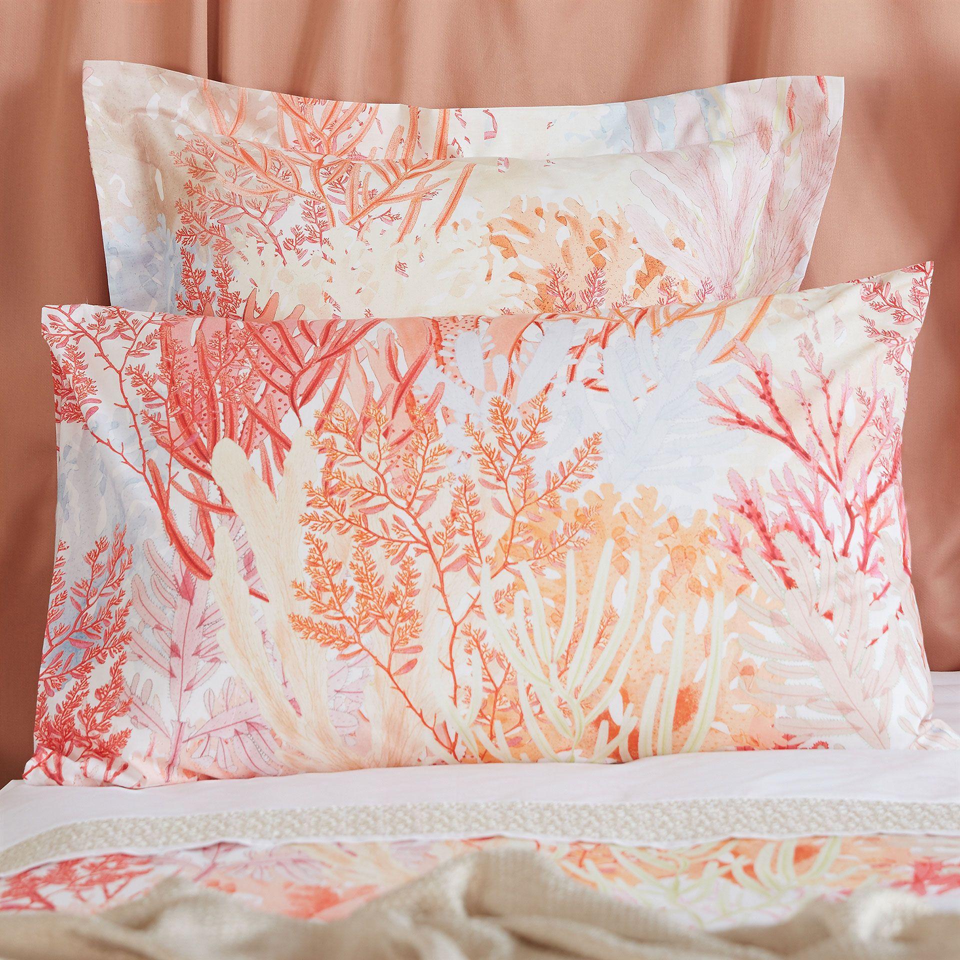 b0cae64757b Multicoloured Coral Digital Print Bed Linen - Bed Linen - Bedroom   Zara  Home United Kingdom