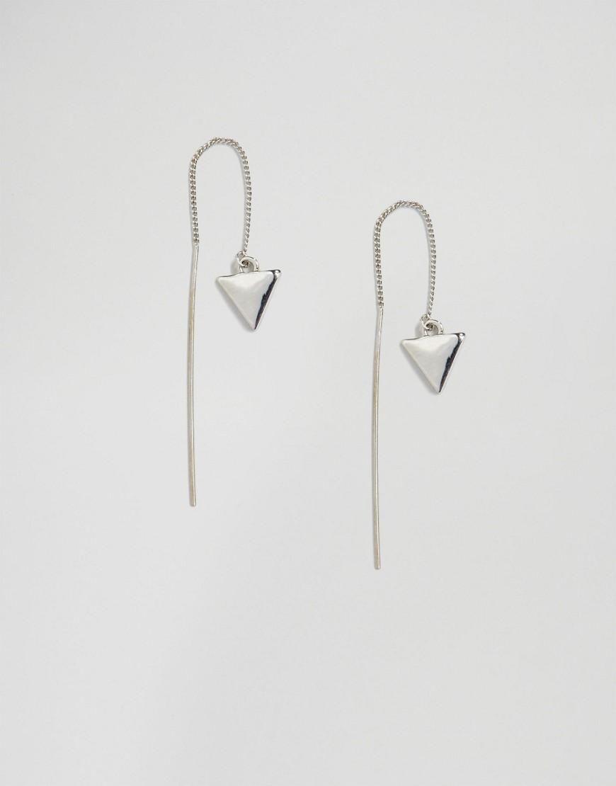 Selected Femme | Selected Femme Zandra Dangle Through & Through Earrings at ASOS