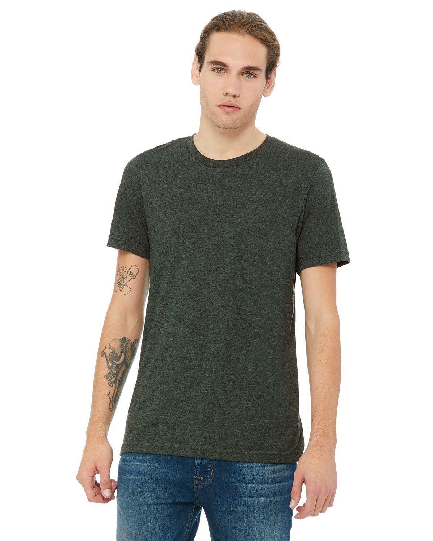 94ba9b35fd4c Bella + Canvas Unisex Jersey Short Sleeve T-Shirt 3001Cvc Heather Forest