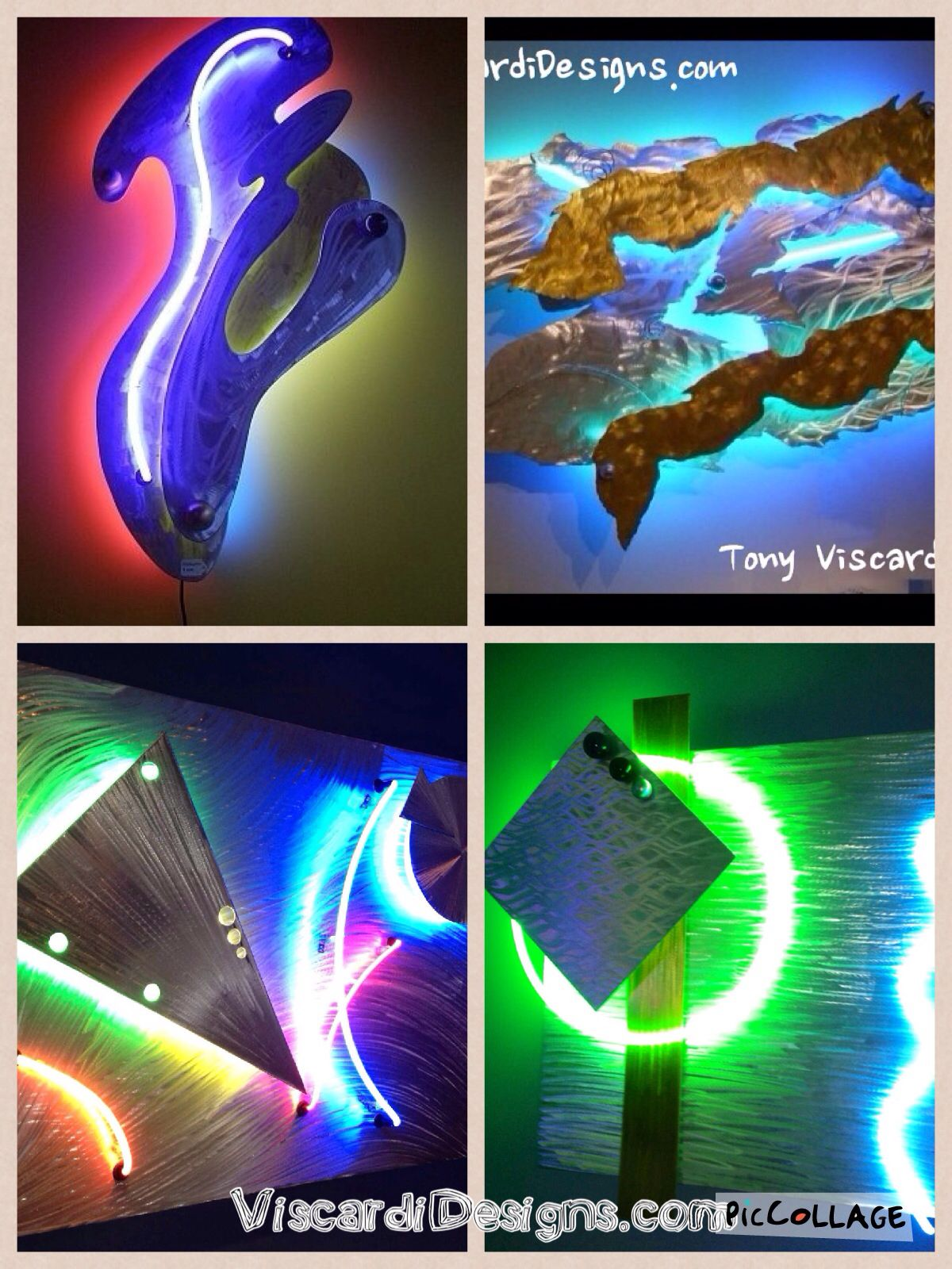 Contemporary art by artist Tony Viscardi See more at Www.ViscardiDesigns.com
